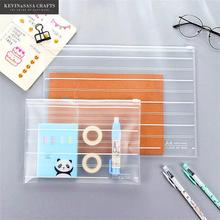 A4/A5 File Folder Document Bag 1Pc Sell Portfolio A4 Paper Stationery Document Folder Office File Folders Kawaii School Tools(China)