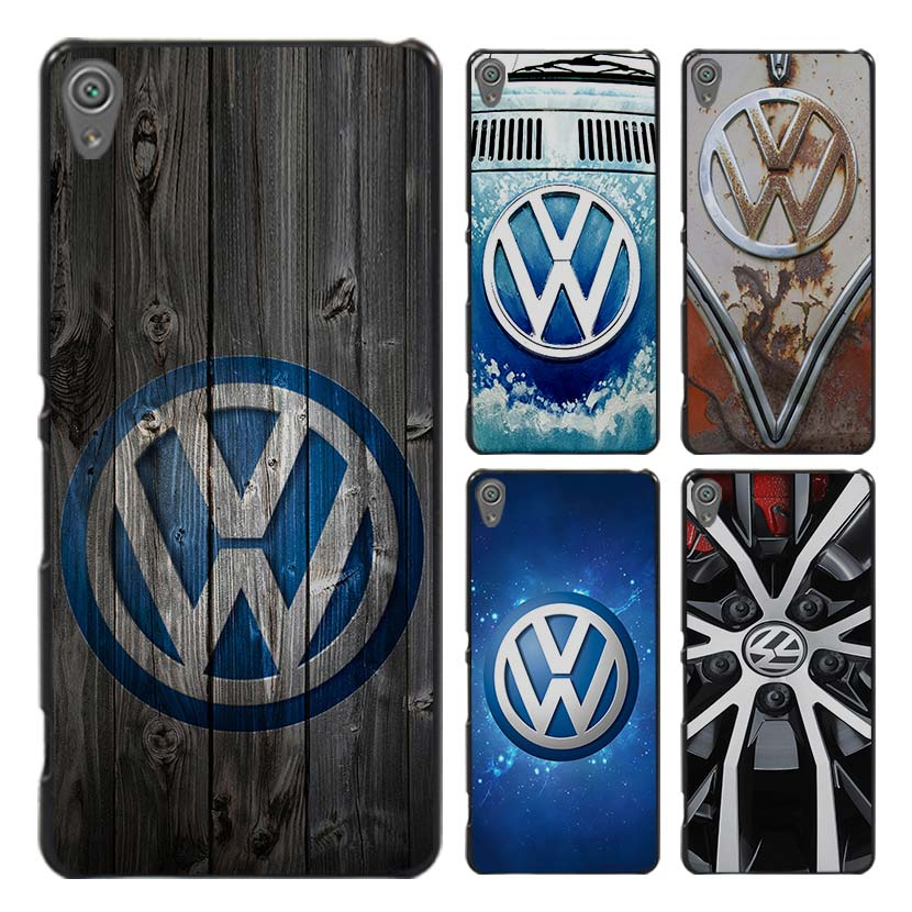 Volkswagen vw bus Style Case Cover for Sony Ericsson Xperia X XZ XA XA1 M4 Aqua E4 E5 C4 C5 Z1 Z2 Z3 Z4 Z5(China (Mainland))