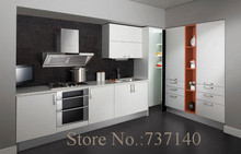 hot sale L shape economy melamine kitchen cabinet China furniture buying agent