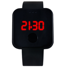 New Style Sport Silicone Quartz Watch LED Touch Screen Fashion Digital Display Electronics WristWatch For Man Women Hour Clock