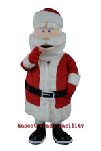 Hot Sale  Hot Sale Santa Clause Mascot Costume Custom Mascot Made Party Outfits Carnival Costumes Christmas Dress