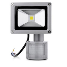 10W Outdoor security lamp Motion sensor PIR led floodlights Park light path Aisle light 3 years warranty Wholesale free shipping