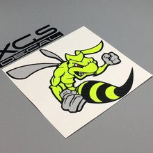 car vinyl multilayer decal sticker Super bee quality waterproof stickers special for cars motorcycle truck boat(China)
