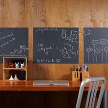 Chalk Board Blackboard Stickers Removable Vinyl Draw Decor Mural Decals Art Chalkboard Wall Sticker For Kids Rooms(China)