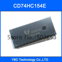 20pcs Wide 74HC154 CD74HC154E 74154 Logic 4-to-16 Line Decoder/Demultiplexer DIP-24