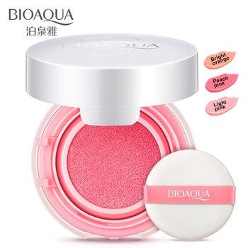 2016 bioaqua colorato idratante aria blush in crema trucco calma rouge pasta blush di alta qualità nude make up new face fard