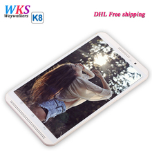 DHL free shipping 8 inch tablet pc Octa Core Android 5.1 4G LTE smartphone Rom 64GB RAM 4GB 1280*800 IPS GPS tablets Kids Gift