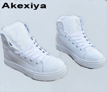 Akexiya New STYLE PU Leather Women Lovers With High Quality Footwear Ankle Design Shoes Ake888(China)