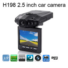 HD Portable DVR With 2.5inch TFT LCD Screen Driver H198 Manual Car Camera HD DVR