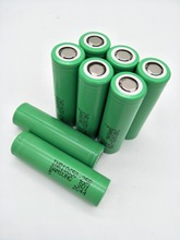 8pcs LiitoKala original  for-samsung 18650 lithium battery 25r inr1865025r 20a, 2500 mah battery for electronic cigarette