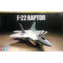 OHS Tamiya 60763 1/72 F22 Raptor Assembly Airforce Model Building Kits