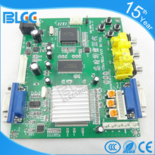 1pc New brand RGB TO VGA Converter PCB hd Arcade CGA to VGA Convertor one VGA output for  LCD monitor machine game cabinet