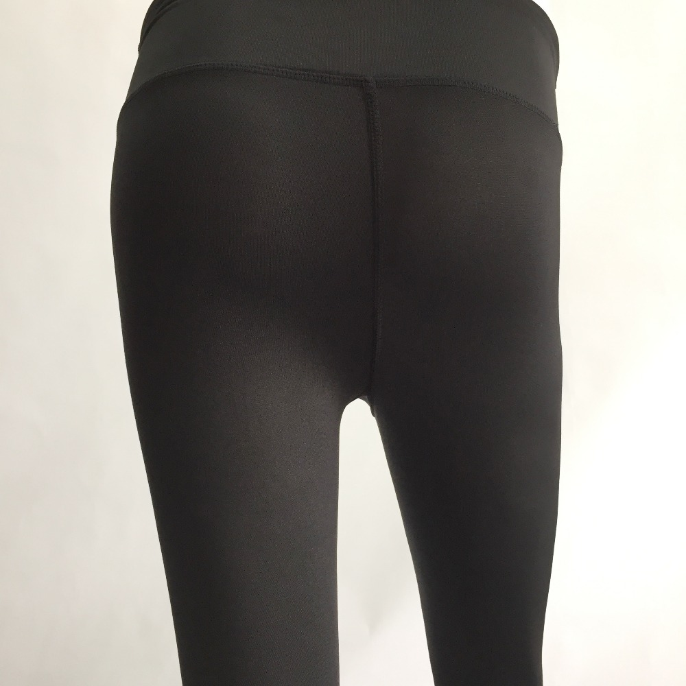 New Women Push-up Sporting Leggings Black Fashion Net Hollow Elastic Skinny Fitness Leggings Sporting Clothing For Women 9