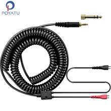 Spring Relief Coiled Cable For Sennheiser HD25 HD25-1 II HD25-C HD25-13 Headphone Replacement Cord Upgrade Cables Extra Length(China)