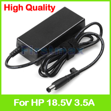 18.5V 3.5A 65W laptop AC power adapter for HP G30 G32 NR3600 NR3610 Mini 2100 2133 PC 2140 PC 6720t Mobile Thin Client charger(China)