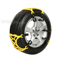 3x TPU Snow Chains Universal Car Suit 165-265mm Tyre Winter Roadway Safety Tire Chains Snow Climbing Mud Ground Anti Slip(China)