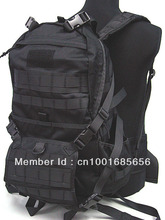 Molle Patrol Series Rifle Gear Backpack black CB Camo Woodland