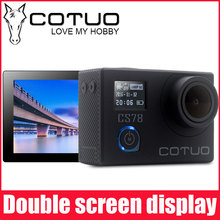New Arrival!Original COTUO CS78 Action Camera 30m waterproof 2.0' Screen 1080p 30fps 16MP sport Camera go extreme pro cam 4000