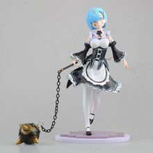 Re:Life in a different world from Zero Servant Girl Rem Action Figure Bola Battle Damaged Ver. PVC figure collection model toy(China)