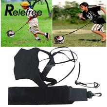 Relefree Football Kick Trainer Belt Control Skills Solo Soccer Practice Aid Equipment Adjustable WaistBelt For Adults Kids