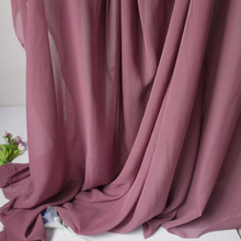 "Purple Chiffon Fabric Sheer Bridal Wedding Dress Lining Fabric Skirt 60"" Wide 5 Yards Per Lot Free Shipping"