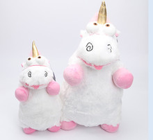 40cm/56cm unicorn minion stuffed & plush animals stuffed animal plush toy, big movie plush toy(China)