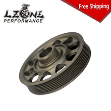 LZONE RACING - FREE SHIPPING Racing Light-Weight Crank Pulley For CIVIC FD2 FD2R 2.0 K20A JR-CP005
