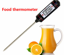 digital milk oven thermometer,thermometer for child use water Thermometer baby food kitchen BBQ temperature measurement(China)