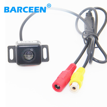 Lens angle 170 universal car rear reversing camera wire auto rain-proof glass lens material supply from stock(China)