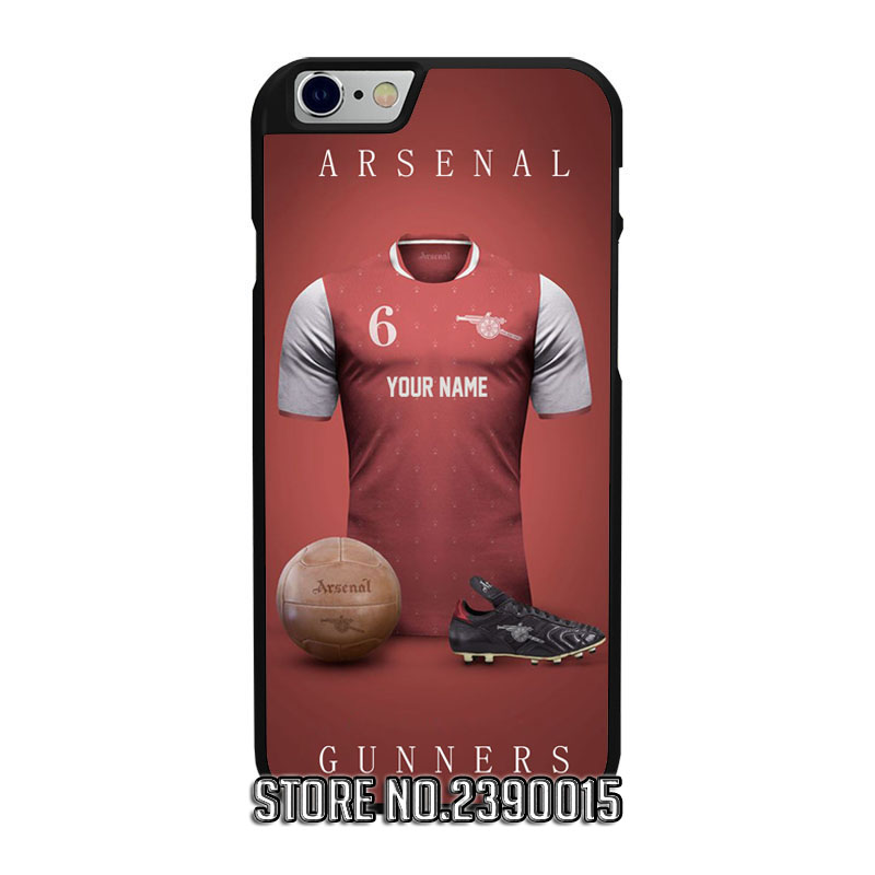 Custom ARSENAL Jersey Cover Case for IPhone 4 4s 5 5s 5c se 6 6s 7 plus Sony Z Z1 Z2 Z3 Z4 Z5 Compact C3 C4 C5 M2 M4 T2 T3 X XA(China (Mainland))