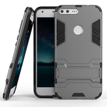 Military armo PC+PU 2 in 1Mobile  Phone Cover Case For HTC Nexus Marlin Google Pixel X Pixel S1 M1 Covers Bag Back Skin Housing