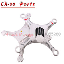 Free shipping CX-20 Axis UAV Accessories head cover cx-20-022 parts Body Shell Cover kit for rc Helicopters from Manufacturer(China)