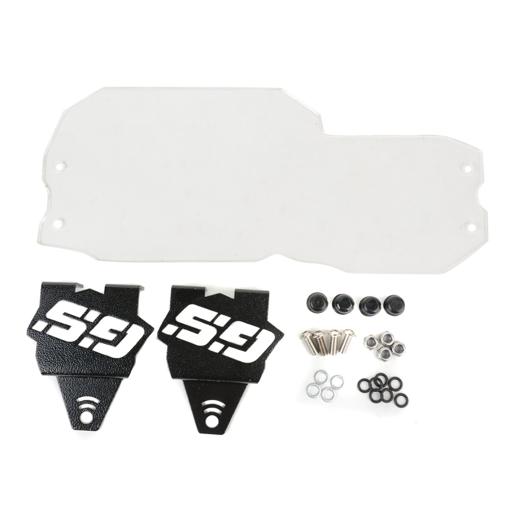 NEW Clear Motorcycle Headlight Protector Guard Cover For BMW F650GS 2008-2013 F700GS F800GS 2008-2016<br>