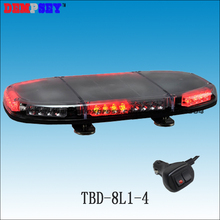 TBD-8L1-4 High quality LED mini lightbar, Car Roof Flash Strobe warning Light,DC12V/24V Fire emergency light,cigar light switch