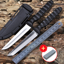 Voltron Outdoor camping mountaineering jungle survival knife high hardness survival straight knife collection gift knife