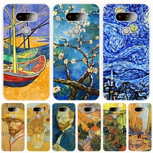 Starry Night Van Gogh Design Painted cell phone case cover for For Motorola Moto G5 G4 X+1 PLAY PLUS ONE style G4 PLUS