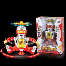 High Quality Fashion Electronic Walking Dancing Smart Space Robot Astronaut Kids Music Light Toys Best Gift Free Shipping(China)