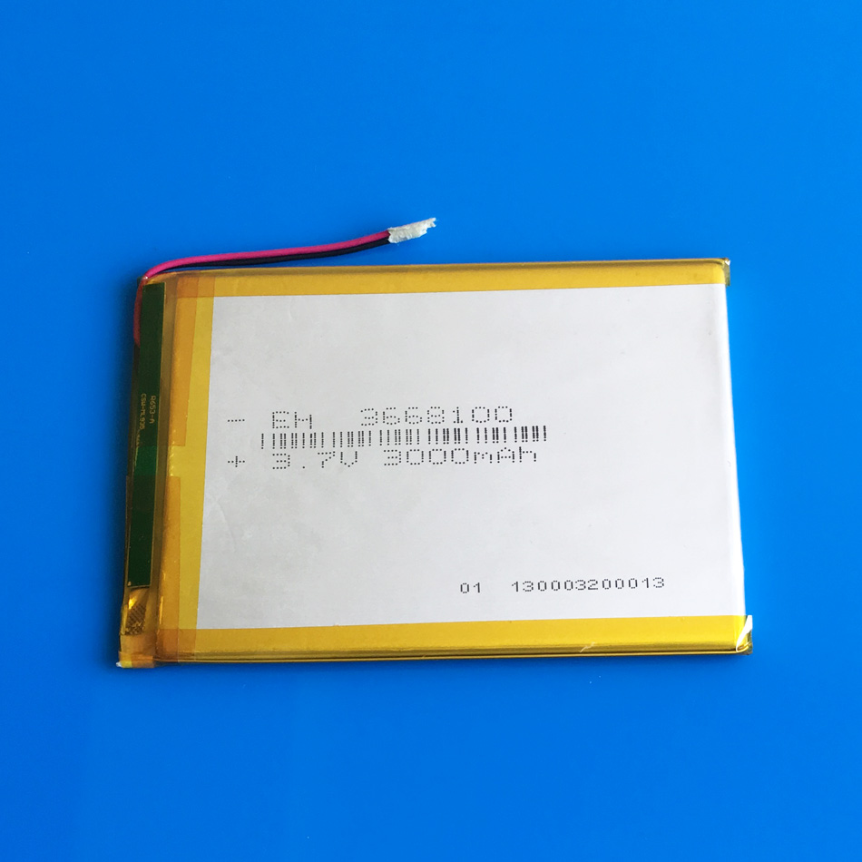 3.7V 3000mAh 3668100 Lithium polymer rechargeable Battery Protection Board PDA Tablet PC Digital Products power bank