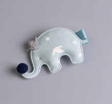 Free Shipping Children cute felt Hair Pin tinsel baby girl's lovely Elephant BB Clip pretty Hairpins Side Clips