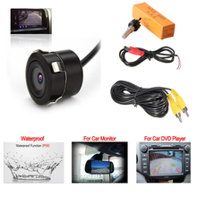 Universal Car Rear View Camera Ccd Hd Night Vision 12V Waterproof 170 Degree Auto Reverse Backup Assist Parking Assistance