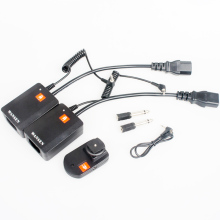 WanSen Universal AC-04 4 Channels Wireless 1 Transmitter + 2 Receivers Radio Studio Flash Trigger Set for Strobe