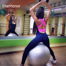 StarHonor One Piece Sexy Gym Fitness Clothing Suit Quick Drying Elastic Fitness Tights Running Tight Jumpsuits Sports Yoga Sets