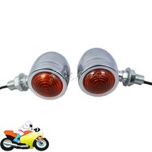 Mini Retro Motorcycle Chopper Bike Turn Signals Light for Suzuki Intruder Volusia VS 700 750 800 1400 1500(China)