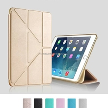 Anti-Shoock Soft Silicone TPU Full Body Drop Protection Slim Smart Stand Case for iPad Mini 1 2 3 Translucent Frosted Back Cover