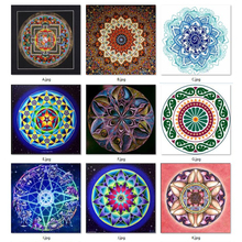 New 5D Diy Diamond Painting Mandala Cross Stitch Full Square Rhinestone Pictures Diamond Embroidery Patchwork Mosaic Needlework(China)