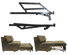 Metal Furniture Frame For The Folding Sofa Bed With Wheel Caster KYA016-3(China)