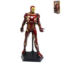 "Crazy Toys Captain America Civil War:Iron Man Mark XLV MK45 11"" Statue Figure Collectible Model Toy CT001031"