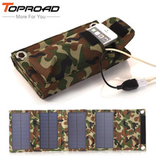 8w Foldable Solar Panel Cell Bag Portable Power Bank Folding External Battery Charging Mobile Chargers for iPhone Smart phone