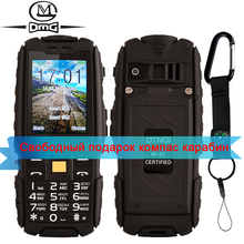 Original DTNO.I A9 4800mAh battery Russian Keyboard IP67 Waterproof shockproof dustproof mobile cell phone FM Flashlight camera(China)