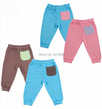 Newly 2 Pieces/Lot Soft Bamboo Cotton Baby Pants Next Casual PP Pants Infant Girl Boy Trousers Baby Clothing(China)